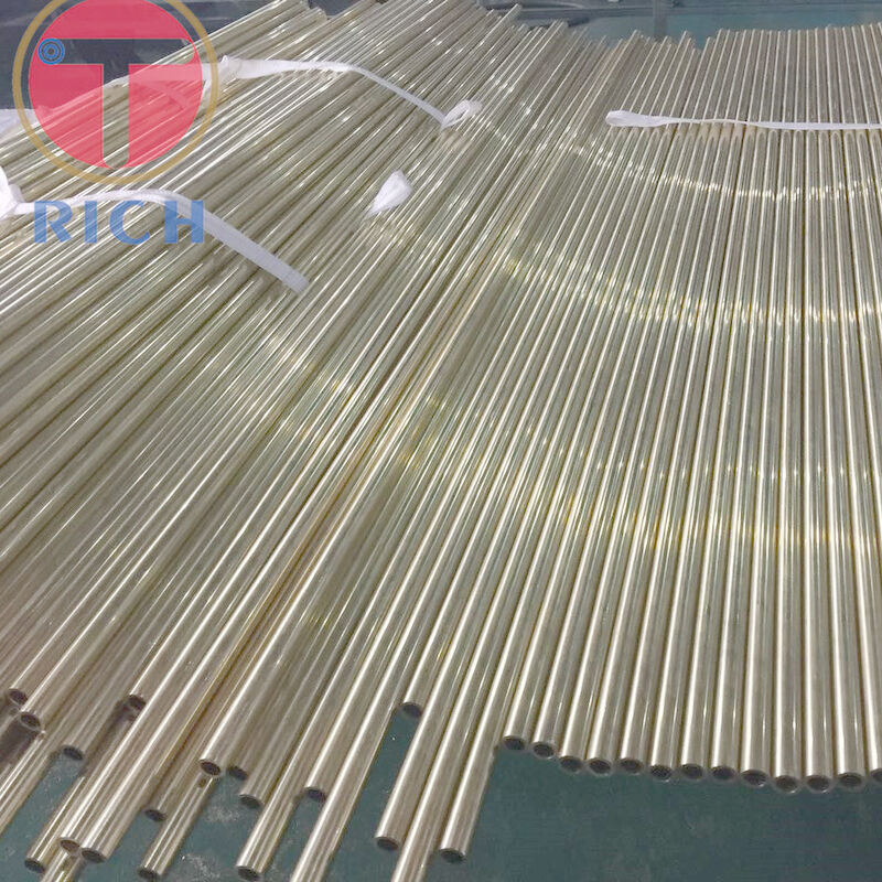 Torich JIS H3300 Seamless Steel Tube For Condenser